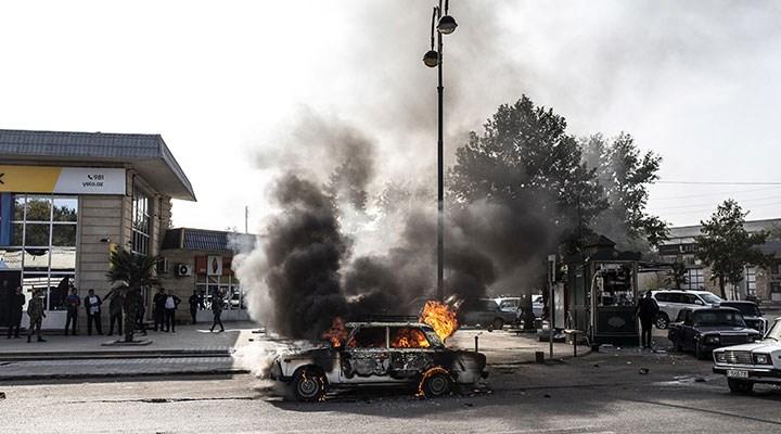 Azerbaycan: Ermenistan Berde'ye saldırdı, 20 sivil hayatını kaybetti
