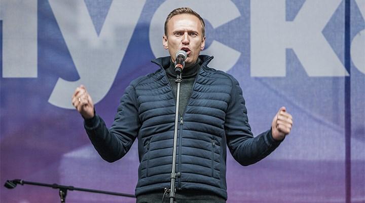 Navalny, Rusya'ya iner inmez gözaltına alındı