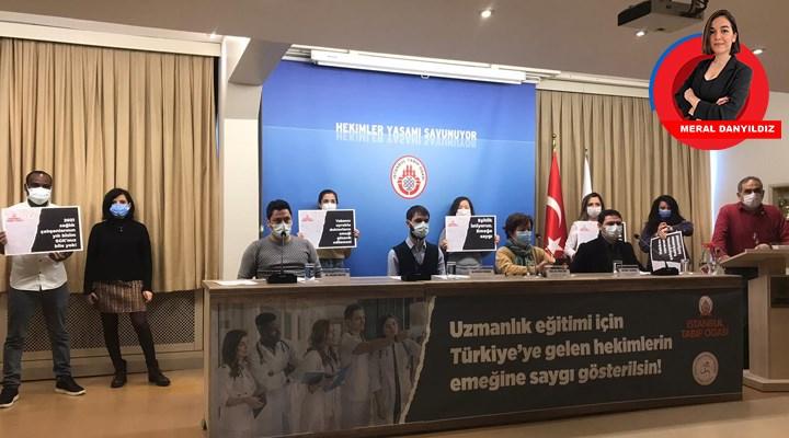 36 saat nöbet, SGK yok, 2100 TL maaş: Yabancı hekimlere emek sömürüsü