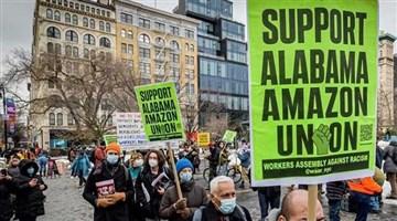 Amazon işçilerinin kurtuluşu direnişte