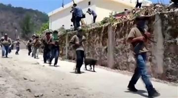 Meksika: Köylüler, uyuşturucu kartellerine karşı silahlanıyor