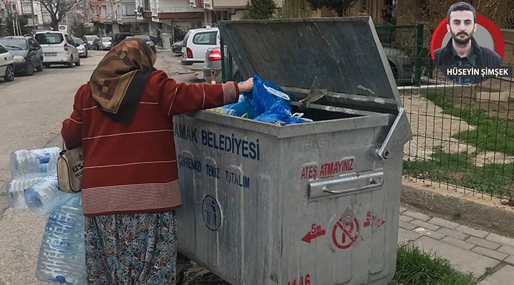 Ankara'da yaşayan 68 yaşındaki Seher E.: Plastik toplamazsam nasıl yaşayacağım?