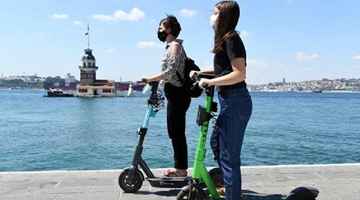 Elektrikli scooter yönetmeliği Resmi Gazete'de: 'Akrobatik hareketler' yasaklandı