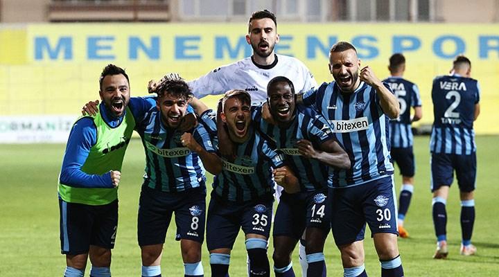 Adana Demirspor ve Giresunspor artık Süper Lig'de