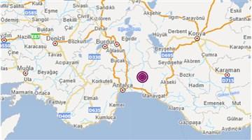 Manavgat'ta deprem