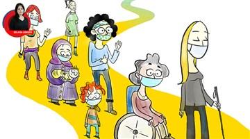 Pandemide engelli kadın olmak: İki farklı hak ihlali