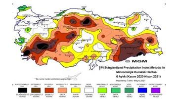 Meteoroloji'den endişe veren kuraklık raporu