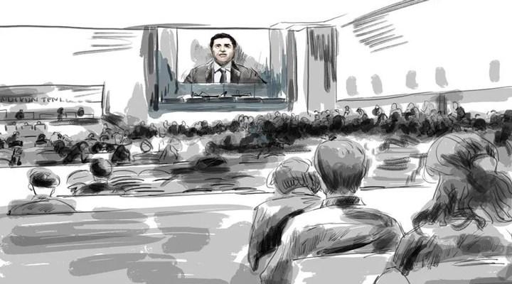 Kobane Davası | Demirtaş: Mahkeme çeviride sahtecilik yapmış