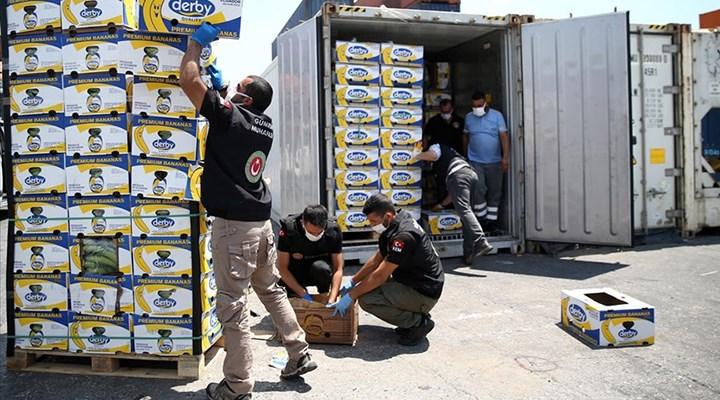 Mersin Limanı'ndan 150 kilo kokain daha çıktı