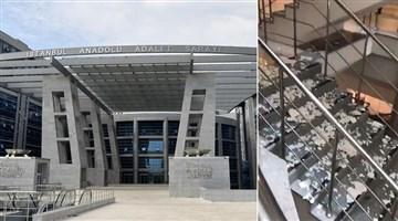 Anadolu Adliyesi bakımsızlıktan dökülüyor!