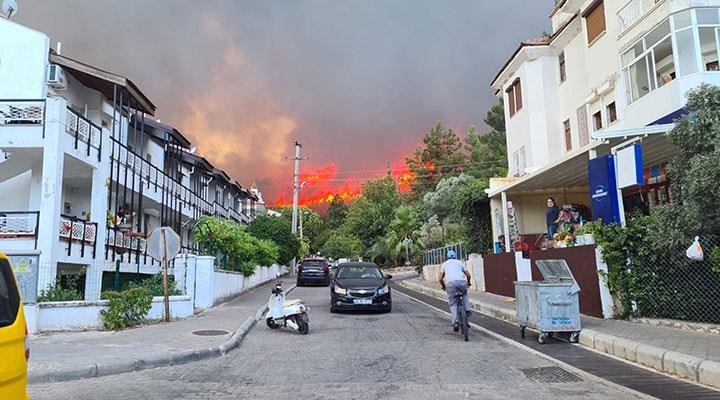 Marmaris'te ormanlık alanda yangın: Başsavcılık soruşturma başlattı
