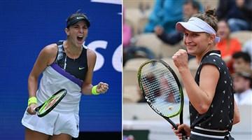 Teniste tek kadınlar finalinin adı belli oldu