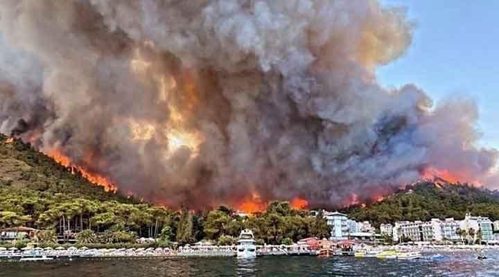 """Marmaris'teki yangını çıkardığı iddia edilen çocuklar: """"Kitap yakıyorduk"""""""