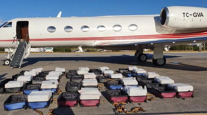 Brezilya'da Türk jetinden bin 304 kilo kokain çıktı