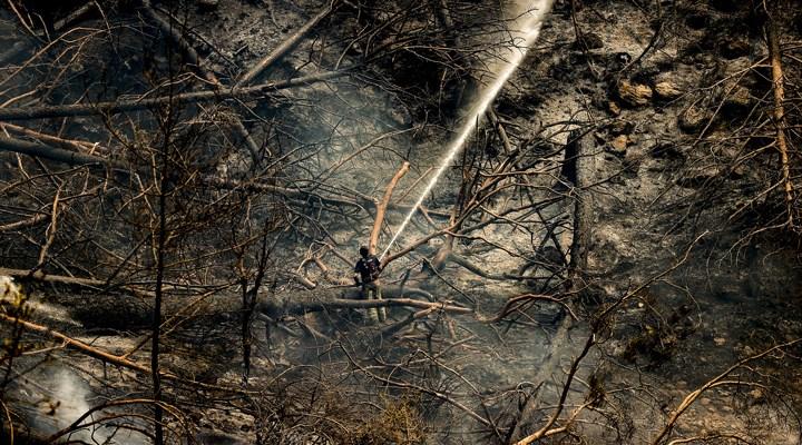 Manavgat yangını 8'inci gününde: Kızıldağ'da tahliye başladı