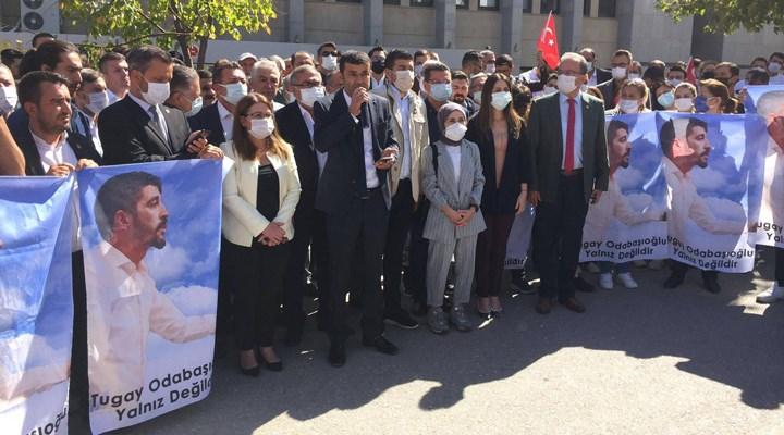 CHP'li gençlik kolları başkanı, 'cumhurbaşkanına hakaret'ten tutuklandı!