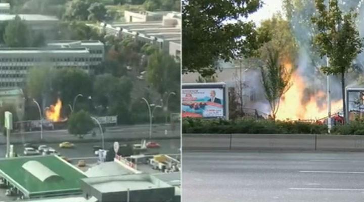Ankara'da MTA yerleşkesinde patlama