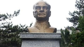 Çankırı'da Atatürk büstüne saldıran kişi tutuklandı