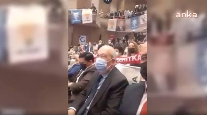 """AKP toplantısında """"üye yapın"""" çağrısına yanıt: Üye olmuyorlar"""