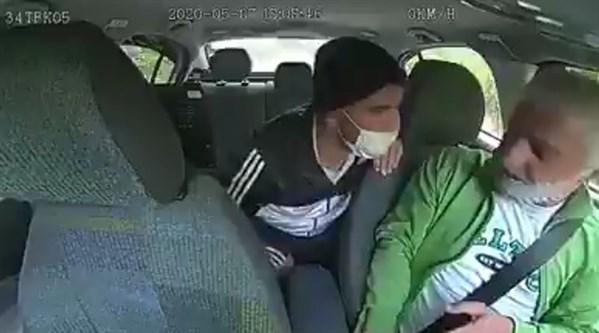 Arnavutköy'de taksiye binen bir kişi şoförü bıçakla gasp etti!