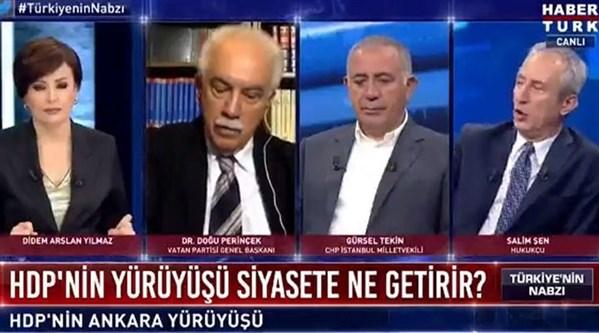 HDP'lilerin neden ekrana çıkarılmadığına 'açıklama'