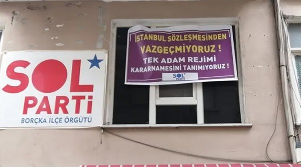 SOL Parti'ye İstanbul Sözleşmesi baskısı