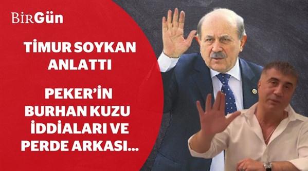 Sedat Peker'in Burhan Kuzu ile ilgili iddiaları ve perde arkası...