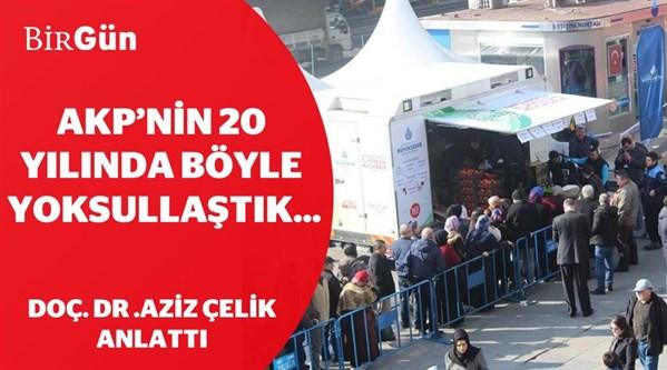 Aziz Çelik anlattı | AKP'nin 20 yılında böyle yoksullaştık